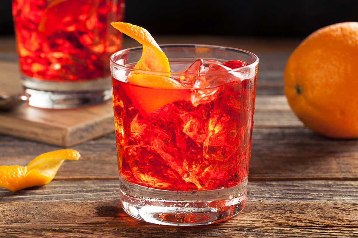 Image of a negroni