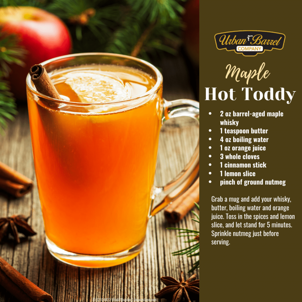 Maple Whisky Hot Toddy Recipe