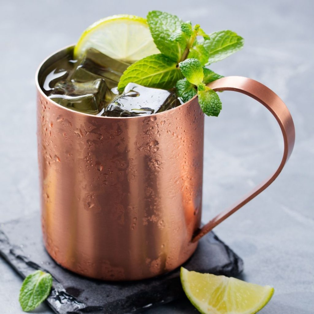 Image of a moscow mule