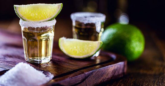 Image of a shot of tequila