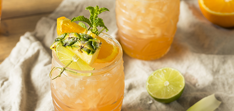 Image of a luau cocktail