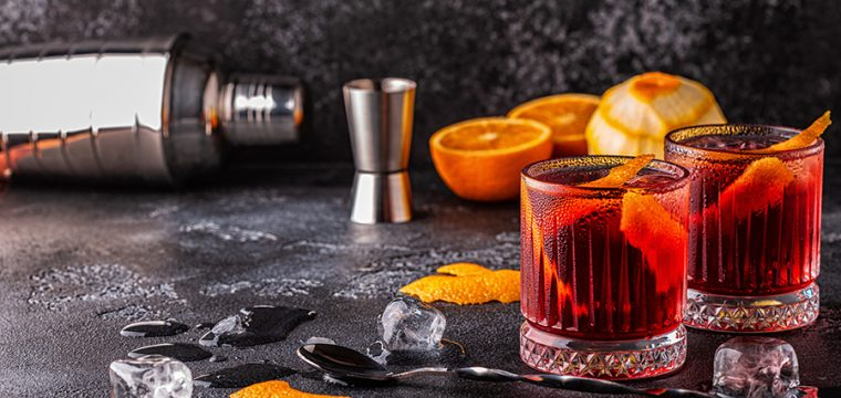 Image of our Nada Negroni