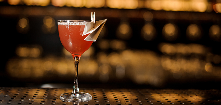 Photo of a Paper Plane Cocktail