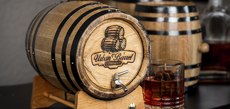 Photo of our gator barrel